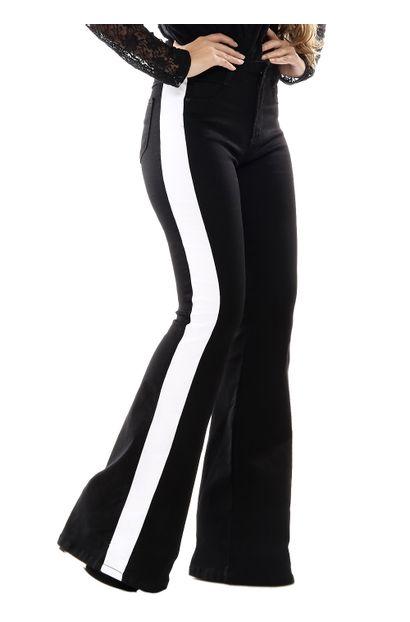 Calça Jeans Feminina Flare - 254513