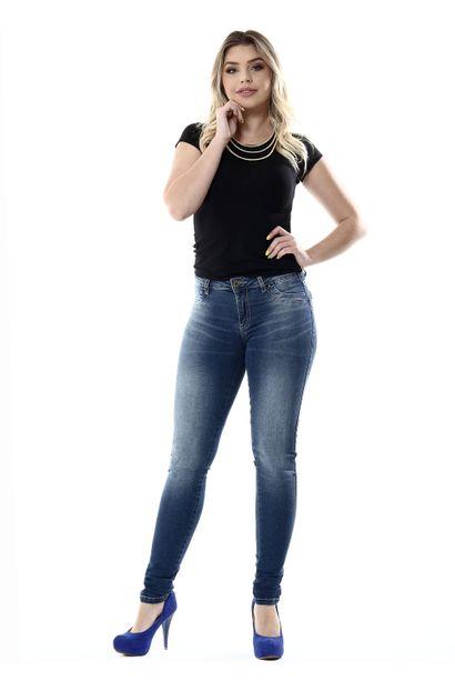 Calça Jeans Feminina legging Levanta Bumbum - 254120
