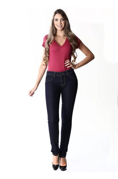 Calça Jeans Feminina Legging levanta bumbum - 254074
