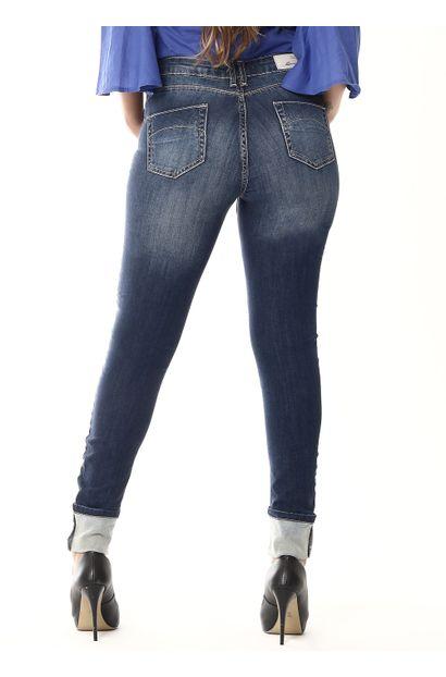 Calça Jeans Feminina Cigarrete -  254401