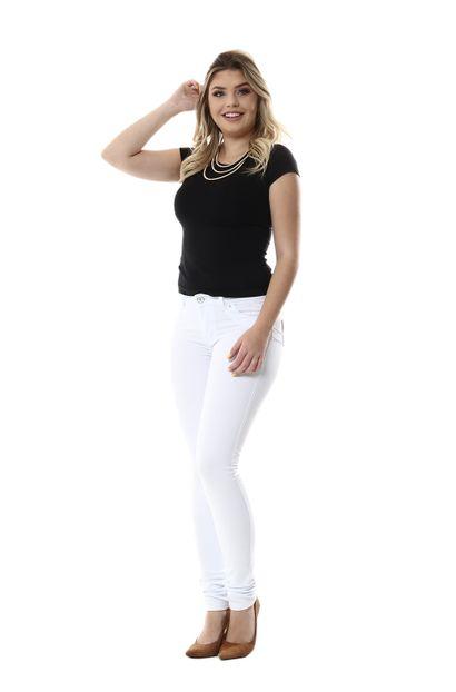 Calça Jeans Feminina Legging Levanta Bumbum - 254725