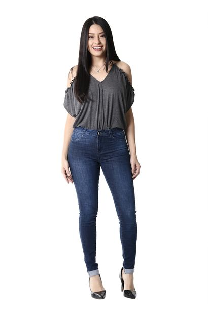 Calça Jeans Feminina Cigarrete Modela e Levanta Bumbum - 254060