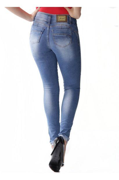 Calça Jeans Feminina Cigarrete Modela e levanta Bumbum – 253733