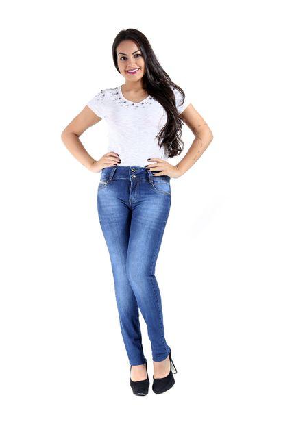 Calça Jeans Feminina Legging Modela e Levanta Bumbum - 247713