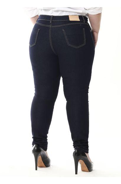 Calça Jeans Feminina Skinny Plus Size - 255296