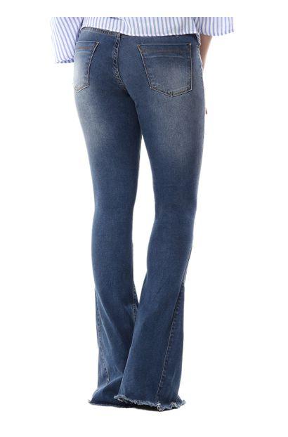Calça Jeans Feminina Flare - 254322