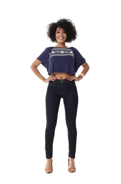 Calça Jeans Feminina Cigarrete Up - 255384