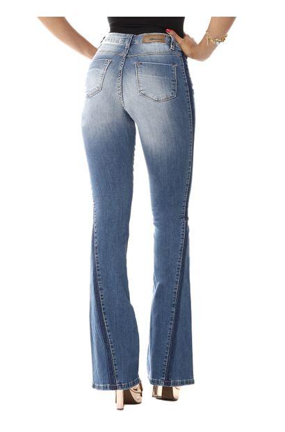 Calça Jeans Feminina Flare - 255106
