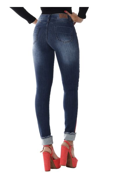 Calça Jeans Feminina Cigarrete Push Up - 254658
