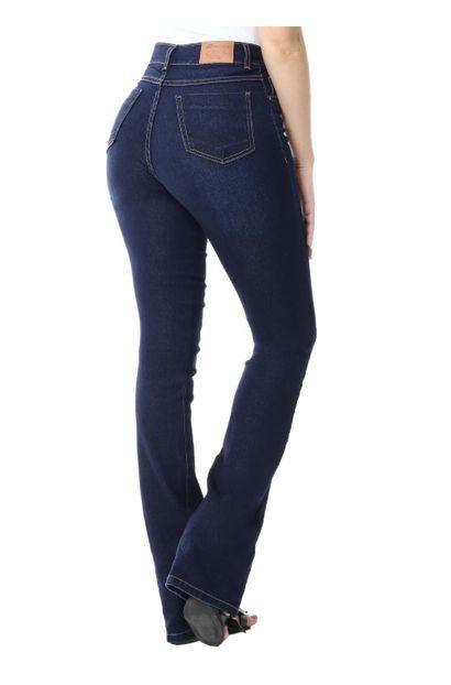 Calça Jeans Feminina Flare Boot Cut - 255288
