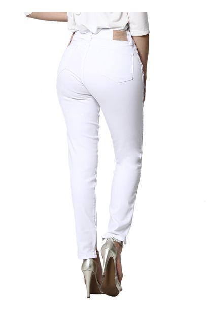 Calça Jeans Feminina Cigarrete Branca - 255241