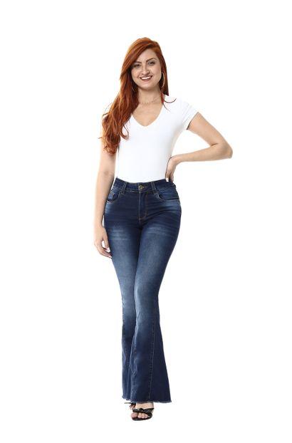 Calça Jeans Feminina Flare - 254491