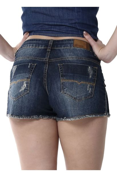 Shorts Jeans Feminino - 255165