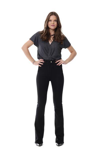 Calça Jeans Feminina Flare Super Lipo - 255545