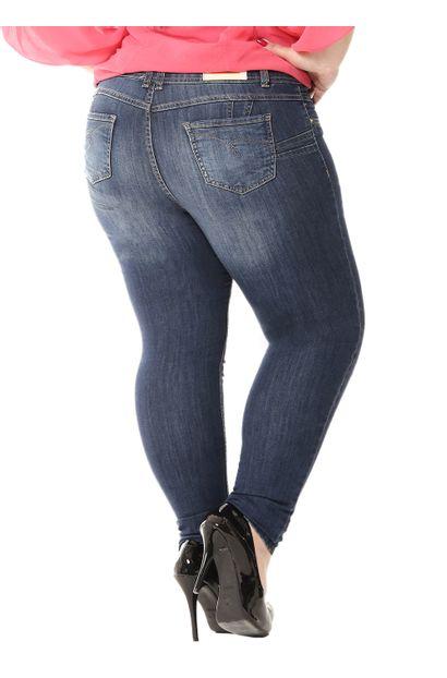 Calça Jeans Feminina Skinny Plus size - 255005