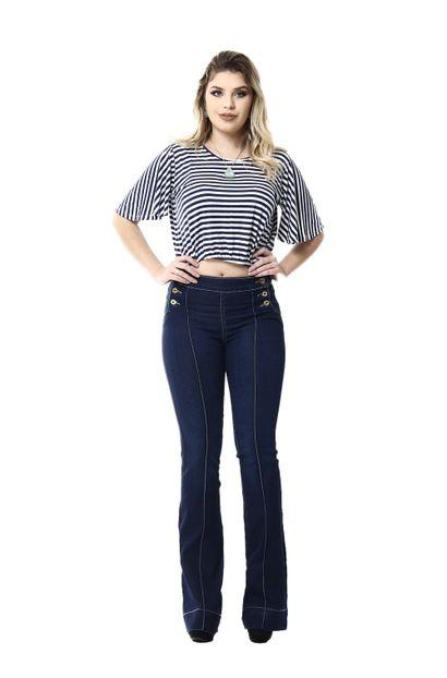 Calça Jeans Feminina Flare - 255590