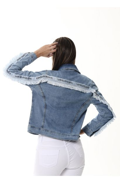 Jaqueta Jeans Feminina - 253410