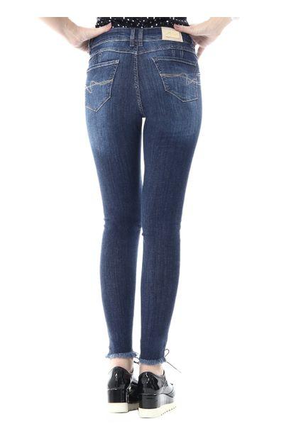 Calça Jeans Feminina Cigarrete Intermediaria Levanta Bumbum - 255619