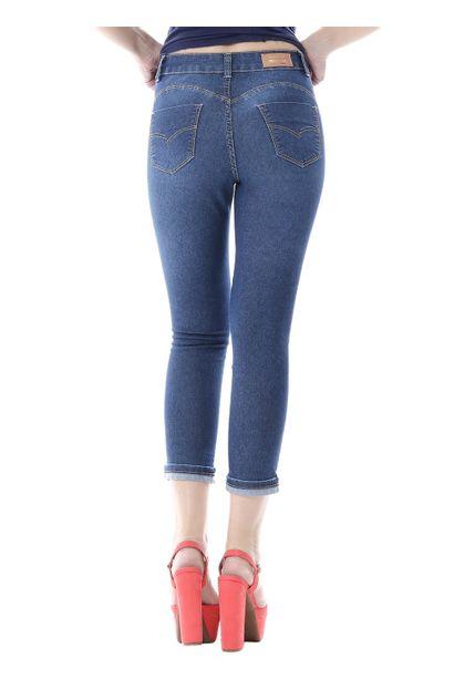 Calça Jeans Feminina Cropped Heart - 255707