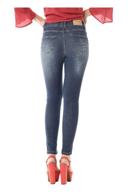 Calça Jeans Feminina Cigarrete Intermediaria - 255744