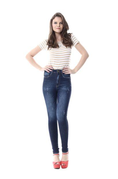 Calça Jeans Feminina Legging Super Lipo - 255657
