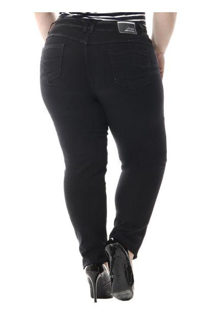 Calça Jeans Feminina Skinny Plus Size - 255696