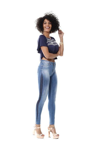 Calça Jeans Feminina Cigarrete Push Up - 254254