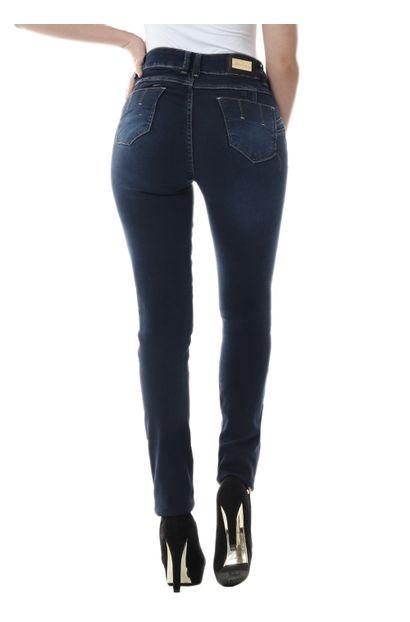 Calça Jeans Feminina Skinny Intermediaria - 255256