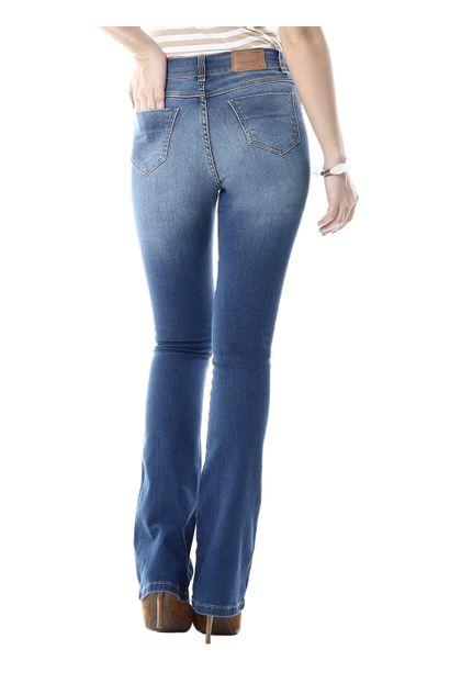 Calça Jeans Feminina Flare Boot Cut- 255631
