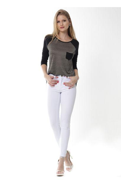 Calça Jeans Feminina Cigarrete - 252406