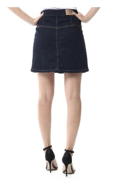 Saia Jeans Feminina - 256069