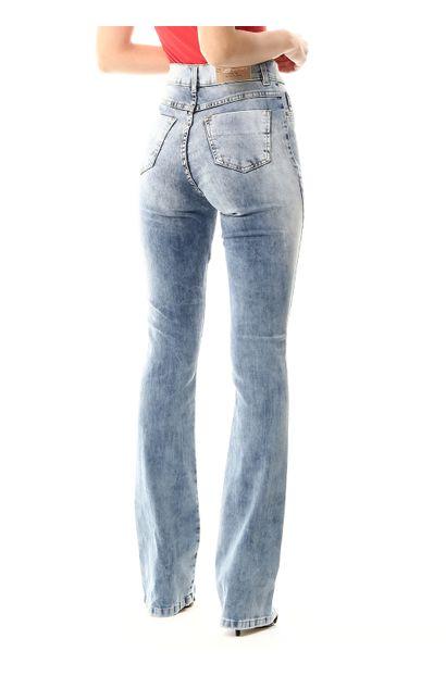 Calça Jeans Feminina Flare Boot Cut - 255616