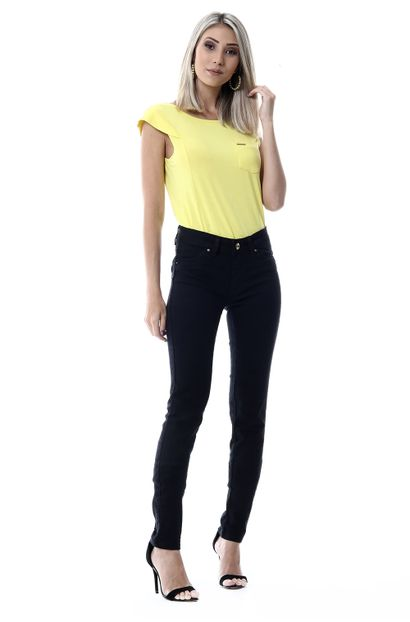 Calça Jeans Feminina Legging Levanta Bumbum - 256101