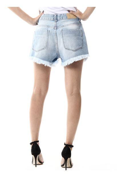 Shorts Jeans Feminino Boyfriend - 255941