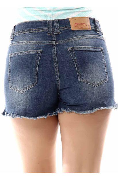 Shorts Jeans Feminino - 255963