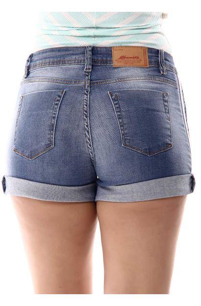Shorts Jeans Feminino - 256088