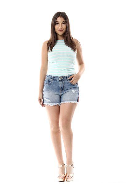 Shorts Jeans Feminino Boyfriend - 255999