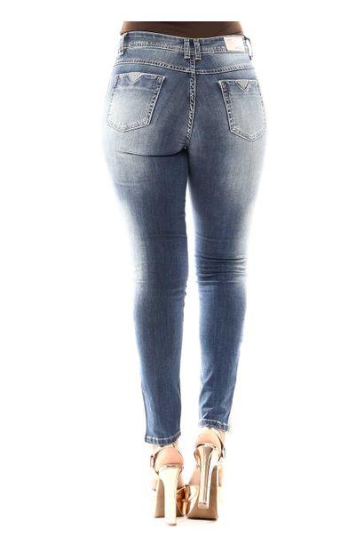 Calça Jeans Feminina Cigarrete Hot Pants - 255908