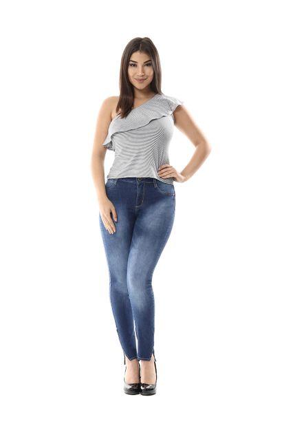 Calça Jeans Feminina Cigarrete Push Up - 255612
