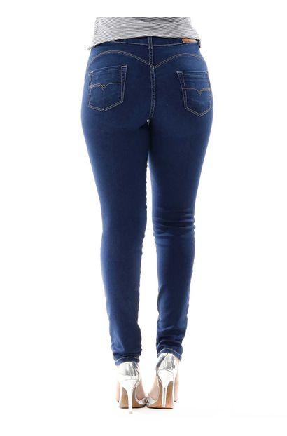 Calça Jeans Feminina Cigarrete Heart - 255862