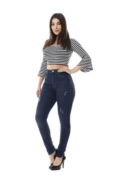 Calça Jeans Feminina Legging Super Lipo - 255777