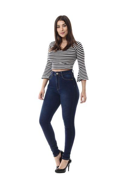 Calça Jeans Feminina Legging Super Lipo - 256357