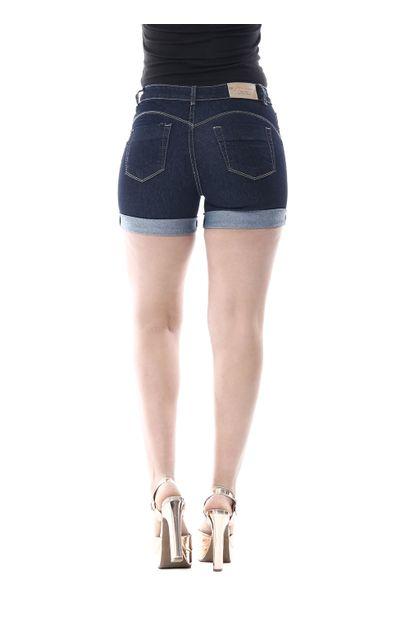 Bermuda Jeans Feminina Heart - 256345