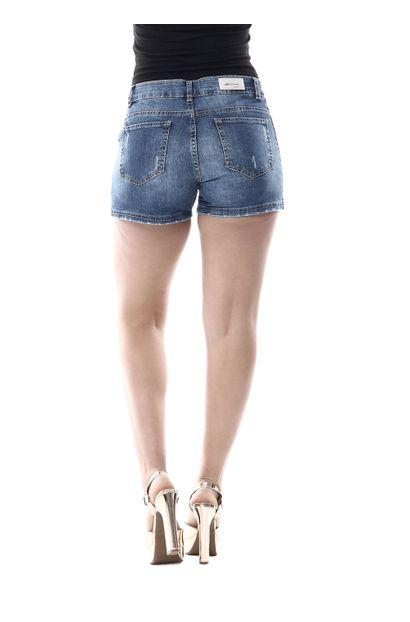 Shorts Jeans Feminino Boyfriend - 255810
