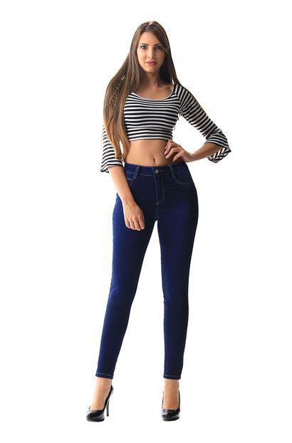 Calça Jeans Feminina Cigarrete Heart - 255023