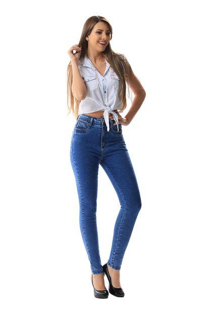 Calça Jeans Feminina Legging Super Lipo - 255690