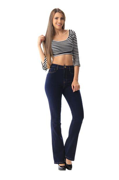Calça Jeans Feminina Legging Super Lipo - 256433