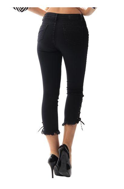 Calça Jeans Feminina Cropped - 256271