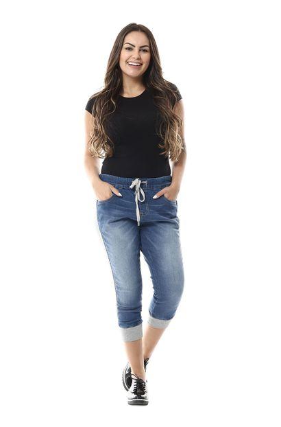 Calça Jeans Feminina Capri - 255373