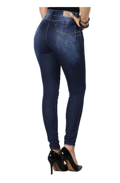 Calça Jeans Cigarrete Levanta Bumbum - 250230